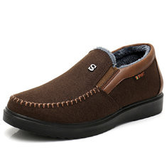 Men Old Peking Style Warm Casual Shoes-RM100.36