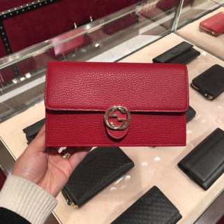 (Pre-Order) Authentic Brand New Gucci Interlocking Wallet on Chain RM3,280.00