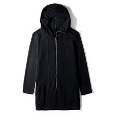 Solid Color Zip Up Hoodie Coat Cardigans-US$35.54