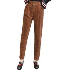 Corduroy Loose Harem Pants -RM128.67