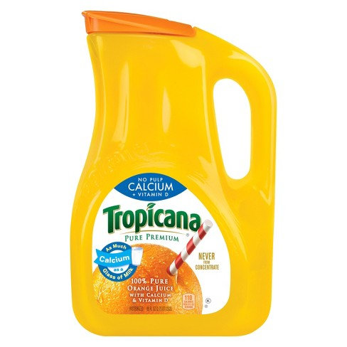TROPICANA  JUICE CALCIUM + VITAMIN D