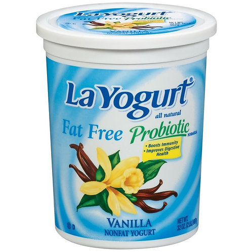 LA YOGURT VANILLA  FAT FREE