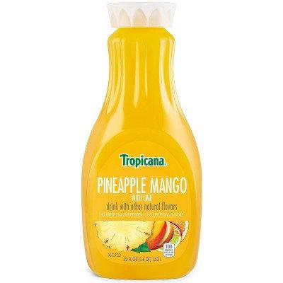 TROPICANA PINEAPPLE MANGO WITH LIME