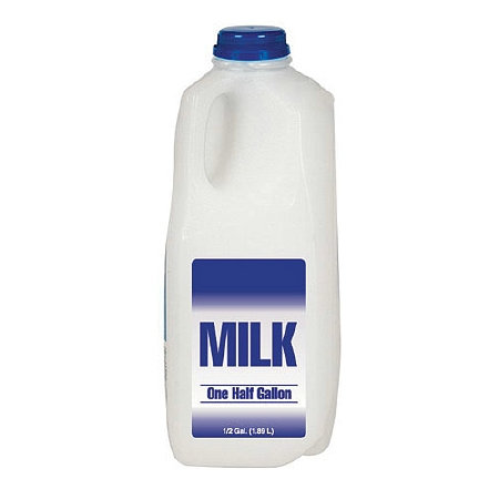 HALF GALON 1% LOW FAT MILK