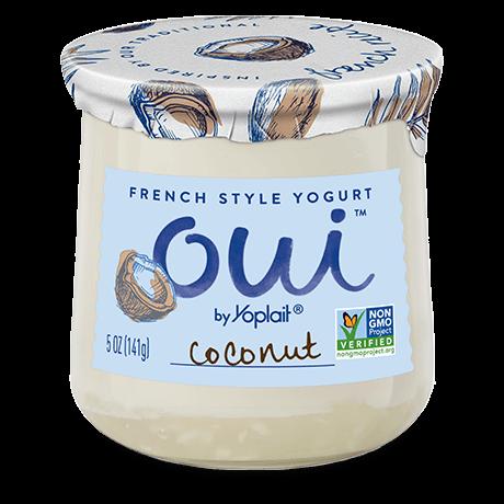 OUI YOGURT COCONUT