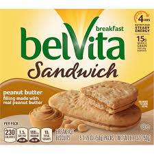 BELVITA SANDWICH PEANUT BUTTER
