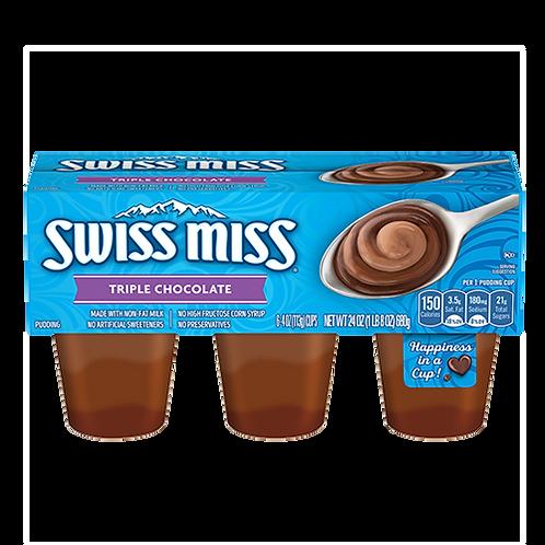 SWISS MISS TRIPLE CHOCOLATE PUDDING