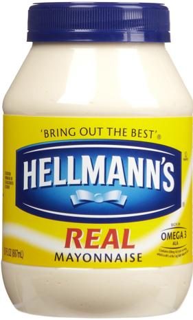 HELLMANN`S REAL MAYONNAISE