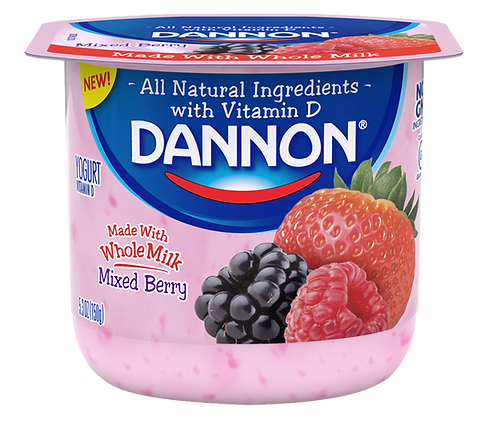 DANNON MIXED BERRY