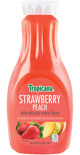 TROPICANA STRAWBERRY PEACH