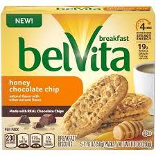 BELVITA HONEY CHOCOLATE CHIP