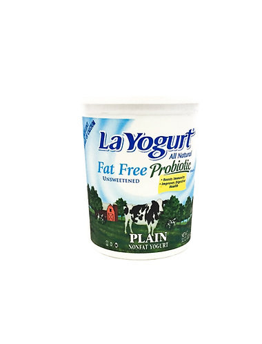 LA YOGURT FAT FREE PLAIN