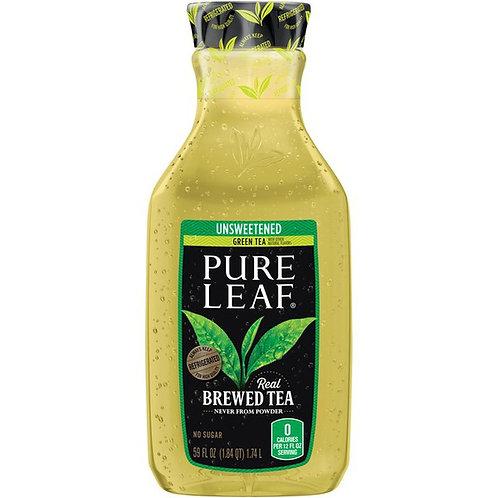 PURE LEAF  UNSWEETENED GREEN TEA