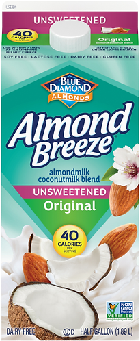 ALMOND BREEZE WITH COCONUT MILK UNSWEETENED