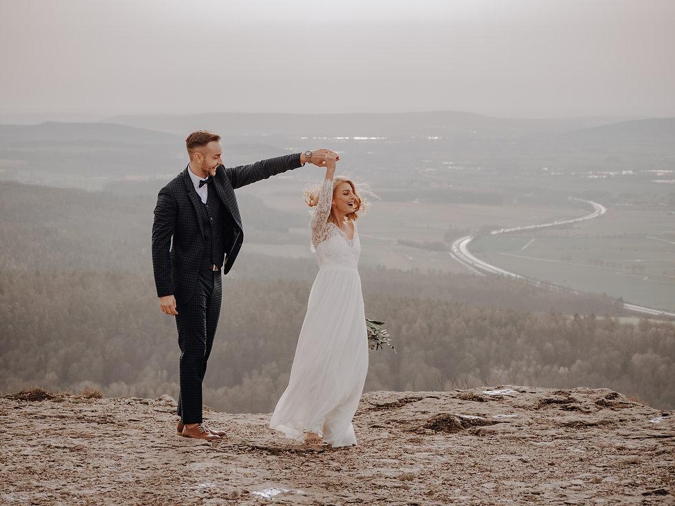 Hochzeitsreportage Brautpaarshooting