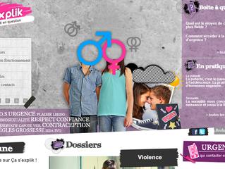 Education sexuelle : la version nordiste du site onsexprime.fr