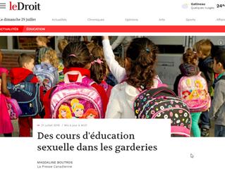 """3 séances d'éducation """"sexuelle"""" dès la rentrée 2018"""