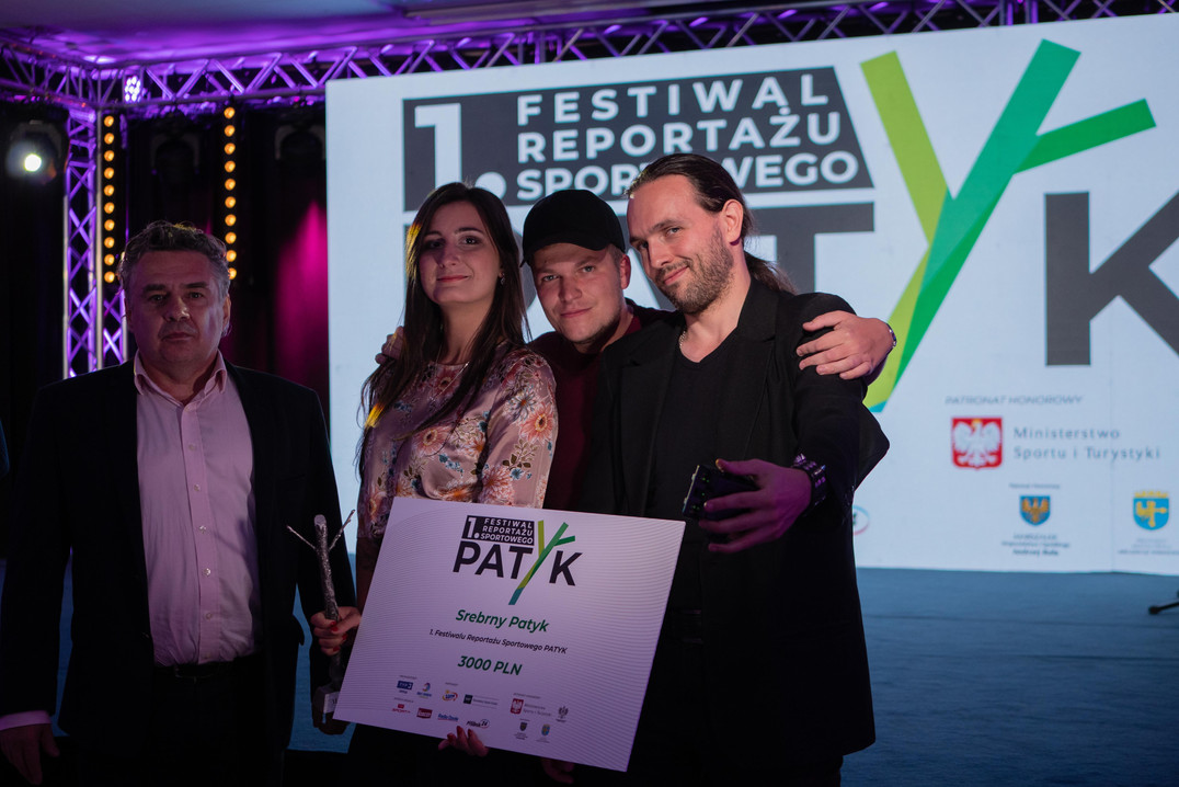 """Festiwal Reportażu Sportowego """"Patyk"""""""