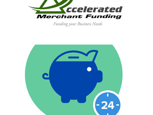 Accelerated Merchant Funding wouldn't be accelerated if we could not fund you as quick as 24 hou