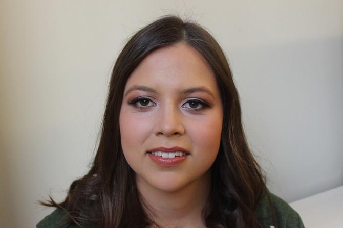 Eliza's Winter Formal Makeup