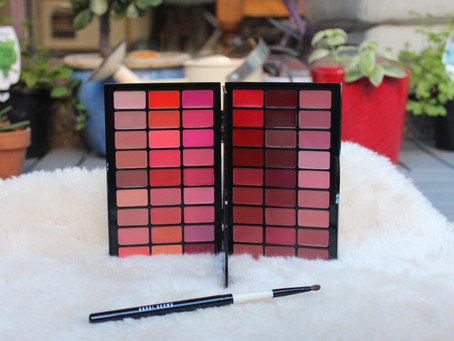 Welcome To My Kit - Edition #1             Bobbi Brown Artist Palette For Lips.