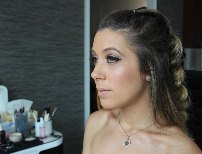 Bridal Party Makeup Look #1