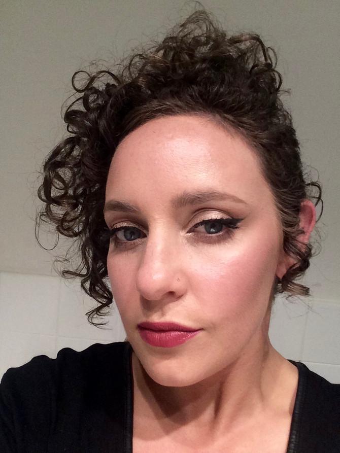 Saturday night makeup look