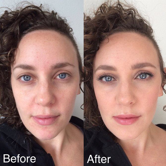 Natural Day Look | Before & After.