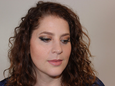 Warm Bronze Smokey Eye