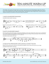 Ten-Minute Warm-Up for French Horn