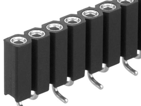 BL15 SMD 089 フィッシャー テープ&リール対応 表面実装用 連結ソケット 1列 2.54㎜ピッチ (1リール=400個巻)4-20コンタクト