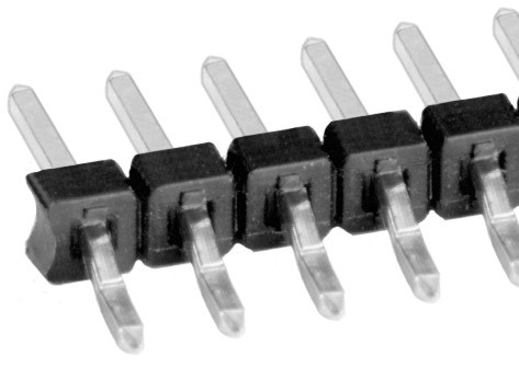 SLY 9 SMD 055 フィッシャー 表面実装用ピンヘッダ ライトアングル 2㎜ピッチ □0.5mm 2-20ピン