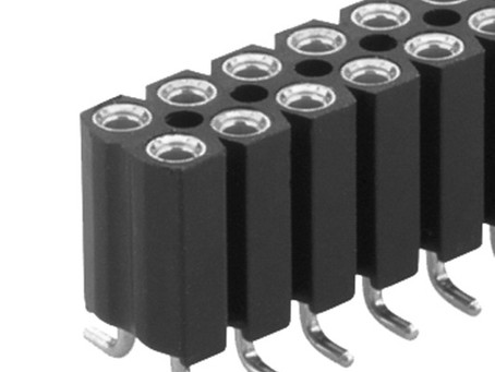 BL16 SMD 113 フィッシャー テープ&リール対応 表面実装用 連結ソケット 2列 2.54㎜ピッチ 4-40コンタクト