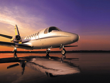 WHAT IT'S LIKE TO WORK ON A PRIVATE JET