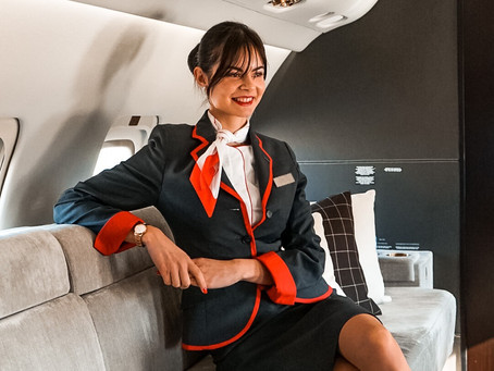 HOW TO BECOME A CORPORATE / VIP FLIGHT ATTENDANT