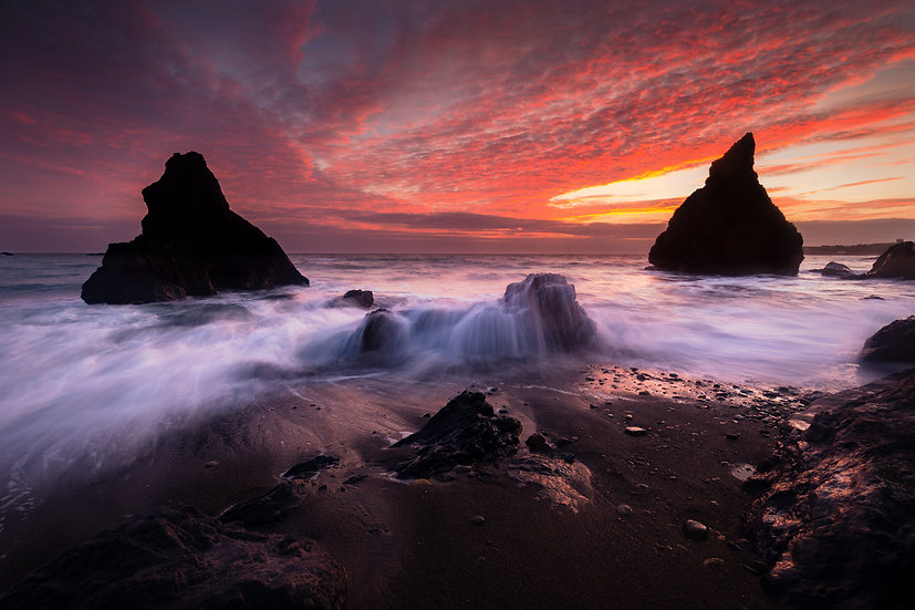 Copper Coast Geopark Sunset