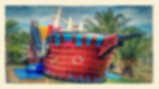 Jeu gonflable location Jump Story Anniversaire bateau parc perpignan activité pirate 66 pyrénées orientales enfant