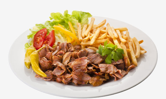 Assiette Kebab du FOOD-STORY