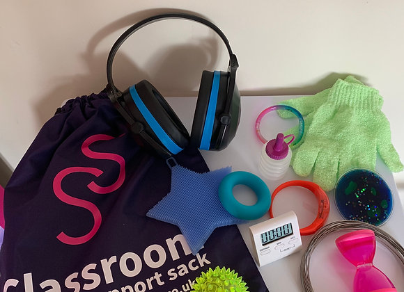 Ear defenders sensory bag