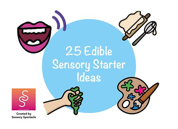 25 Sensory Taste Starter Cards