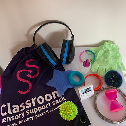 Sensory Support Sack with Ear Defenders