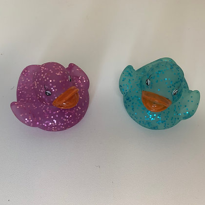 Light up glitter duck