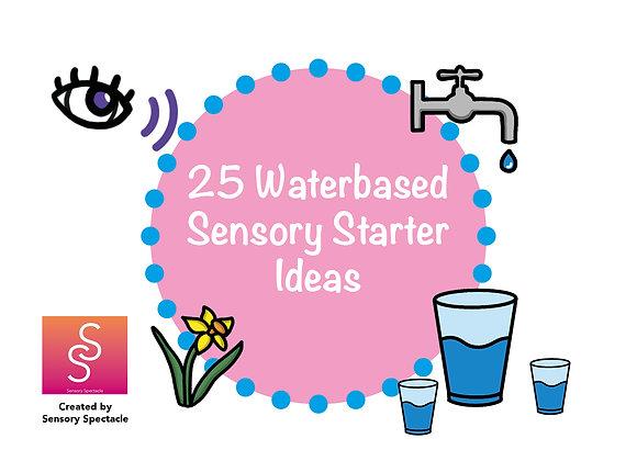 NEW! 25 Water based sensory starter card