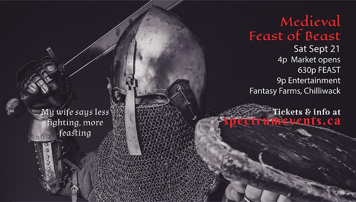 Feast of Beast Promo Poste