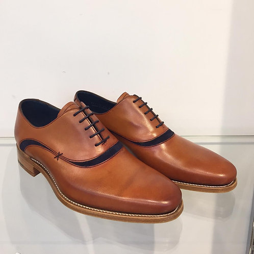 Barker 'Emerson' Antique Rosewood/Navy