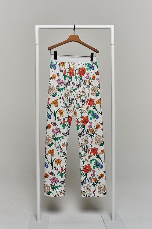 HERZEN'S ANGELEGENHEIT Floral Trouser