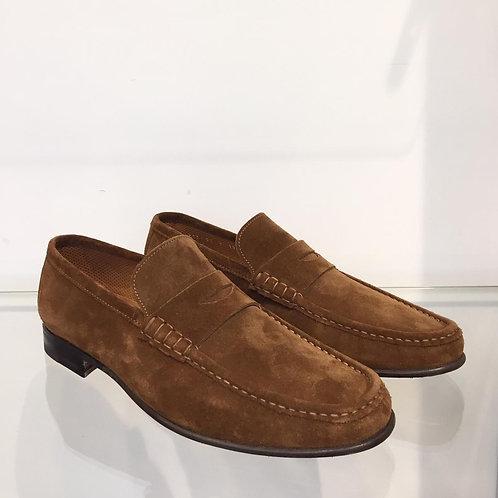 Stemar Tan Suede Loafer