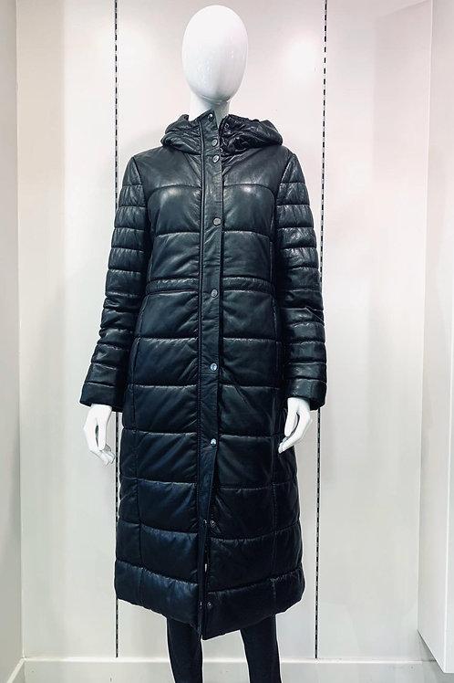 Oakwood Leather Puffa Jacket