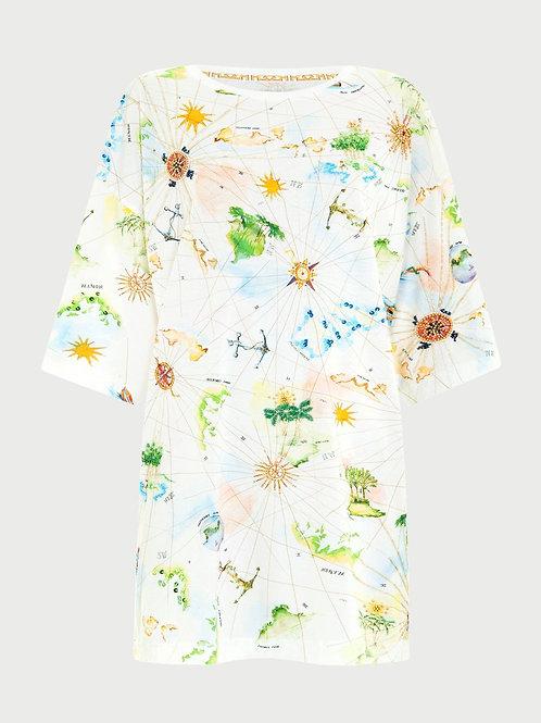 Hayley Menzies 'Paradise Found' T-Shirt Dress