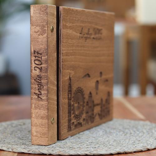 Originální dřevěné album DOVOLENÁ